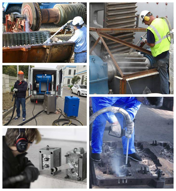 applications of dry ice cleaning