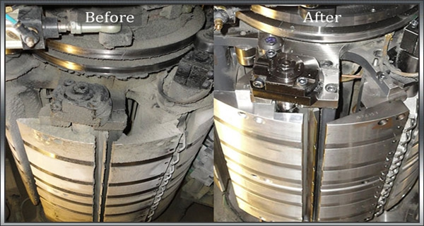 dry ice blasting for metal casting