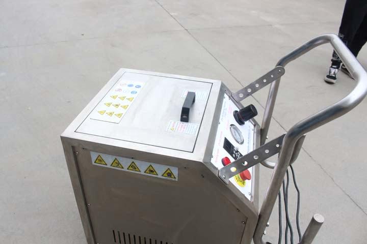 dry ice blasting machine details