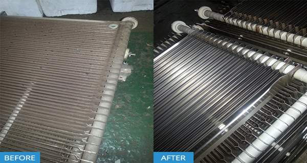 dry ice cleaning for stainless steel