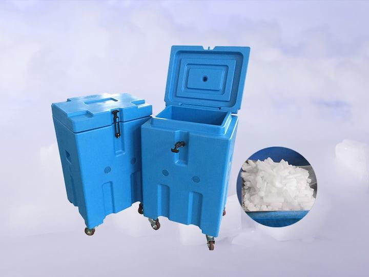 dry ice storaging box