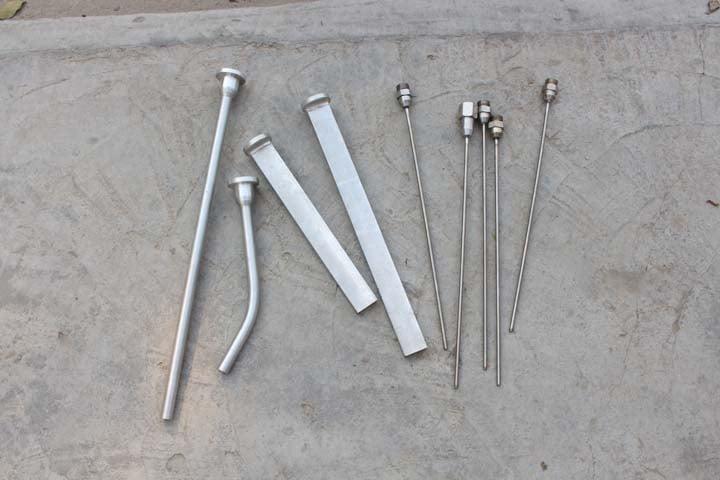 various dry ice blasting nozzles